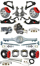 """NEW 2"""" DROP SUSPENSION & WILWOOD BRAKE SET,CURRIE REAR END,ARMS,POSI GEAR,687474"""