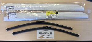 GM OEM Wiper Blade SET (2) 07-13 Silverado Sierra Tahoe Yukon Suburban 25877402