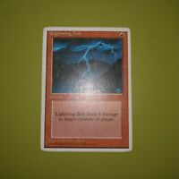 Lightning Bolt x1 Fourth Edition 4th 1x Magic the Gathering MTG