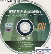 ASUS GENUINE VINTAGE ORIGINAL DISK FOR M2N32-SLI PREMIUM VISTA  Disk M1103