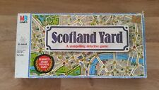 Scotland Yard Boardgame Vintage Milton Bradley 1985