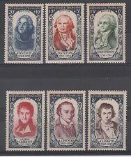 N° 867 à 872 Célébrités du XIIIe siècles,cote 96 €, neuf **, année 1950, TTBE