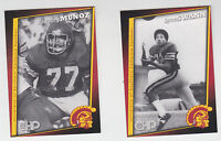 2005 CHP LYNN SWANN STEELERS ANTHONY MUNOZ BENGALS USC TROJANS SAFETY SET SGA