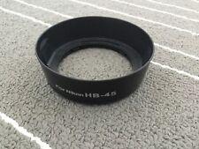 Lens hood for Nikon HB45 HB-45 AF 18-55m AF-S VR Zoom