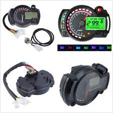 12V Motorcycle ATV LCD Digital Dual Colors Speedometer Tachometer Odometer Gauge