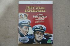 BLU-RAY THEY WERE EXPENDABLE  PREMIUM EXCLUSIVE EDITION NEW SEALED