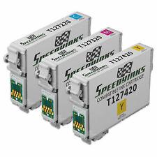 Reman Color Cartridge set of 3 for Epson Ink 127 Workforce 545 60 630 T127