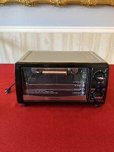 NEW Hamilton Beach Silver & Black Toaster Oven - Model: 31144; 1050 Watts