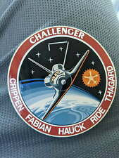 Challenger Mission Decal - STS-7
