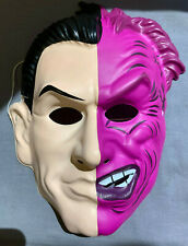 HARVEY TWO FACE DC COMICS VERSION HALLOWEEN MASK PVC CHILD SIZE