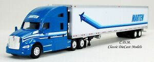 Kenworth T680 Sleeper Cab MARTIN TRANSPORT w/53' Reefer Trailer 1/87 HO TNS119