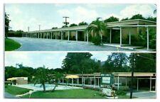 1961 Mid-Lakes Motel, Leesburg, FL Postcard