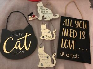 Cat Plaque Bundle