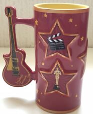 Large Mug From madame Tussauds London / With Guitar Handle / Famous