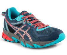NEW Asics Gel-Sonoma 2 womens outdoor running shoe T684N 5106 blue coral sz 6
