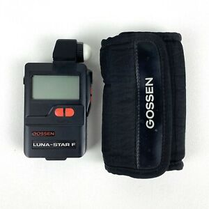 Gossen LUNA-STAR F Light / Flash Meter With Case