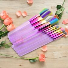 10 pcs Spectrum Docolor Makeup Brushes Set Foundation Face Eyeshadow Beauty Tool