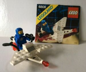 "VINTAGE LEGO #6808 ~ ""GALAXY TREKKOR"" ~ SPACE: CLASSIC SPACE ~ 1987 ~ 100%"