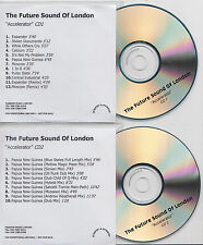FUTURE SOUND OF LONDON Accelerator 2001 UK promo test 2-CD Andrew Weatherall