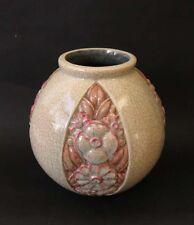 Marcel Guillard Ed Etling, Boulogne. Vase Art Deco modèle  J Martin