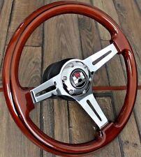 Steering Wheel VW Wood Wolfsburg Golf Jetta Scirocco Mk1 Mk2 Caddy 1977-1988