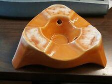 Vintage HULL Orange Drip Warming Stand Warmer Base