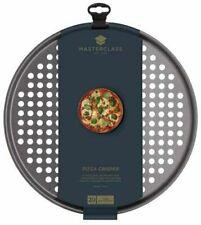 Non Stick Pizza Crisper Tray for Oven, 32 cm KitchenCraft MasterClass