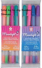 Sakura Assorted Gelly Roll Pen Collection Moonlight Bold, Fine 32 Gel Pens