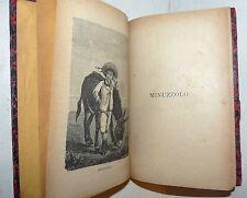 ROMANZO GUIDA VIAGGI - Collodi: MINUZZOLO 1903 Bemporad illustrato detti toscani