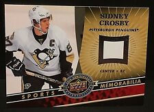 SIDNEY CROSBY 2009 Upper Deck 20th PROOF For Jersey Card BLANK Back SP PENGUINS