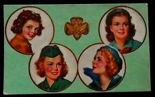 1948 GIRL SCOUT Membership Card Troop Number II Ellsworth Maine