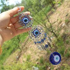 de TURQUÍA Azul mal ojo Dormitorio Adorno Amuleto Colgante Pared Decor Lucky
