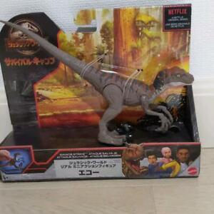 Jurassic World Velociraptor Echo Savage Strike figure