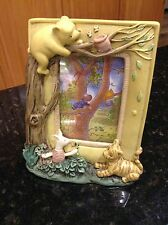 Classic Pooh Bear Picture Photo Frame Pooh With Trees 3D Charpente Piglet Tigger