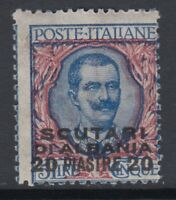Italy Scutari Offices - Sassone n.7 MNH** cv 150$