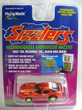 Viper GTS Bright Red CHROME 1996 Playing Mantis Sizzlers Race Car New PKG