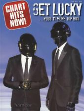 Chart Hits Now Get Lucky Plus 11 More Top Hits Piano Vocal Guitar Music Book