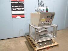 Sonic Ease Inc Mc 1334 Industrial Pneumatic C Frame Hot Plate Sealer Machine
