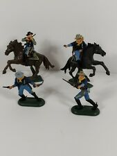 VINTAGE BRITAINS 1971 Union Soldiers Lot Of 4 . Horse action foot soldier action
