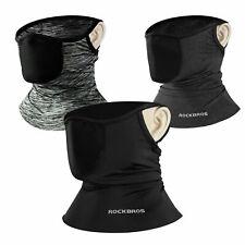 Rockbros sports ice silk scarf neck warm headband with filter