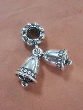 AUTHENTIC PANDORA SILVER BELLS CHARM BEAD STERLING #791230 BRAND NEW DANGLE XMAS