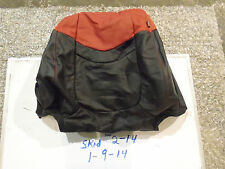 NEW KIA SOUL SPORT LEFT UPPER SEAT COVER BLACK RED LEATHER 10 11 FACTORY OEM