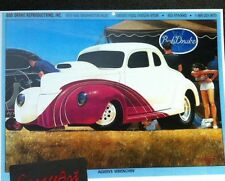 1940 Ford Illustration 8x10 Reprint Garage Decor