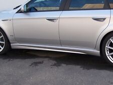 MINIGONNE SIDE SKIRTS mod. TI replica in ABS per Alfa Romeo 159 e 159 Sportwagon