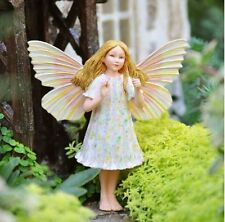 Cicely Mary Barker Yarrow Garden Flower Fairy Ornament Figurine Nib!