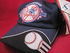 100 Year Anniversary 1903 to 2003 NY Yankees & Nascar Petty/Berra Hat/Cap NWT