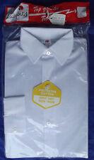 Ragazzi vintage shirt inutilizzati età 4 1970s ITALIANO SCUOLA PRIMARIA uniforme Coccinella