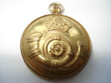 CWW1 VINTAGE MILITARY REGIMENTAL BUTTON BY J.R.GAUNT PHOTO LOCKET PENDANT