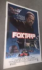 "FOX TRAP ORIGINAL ONE SHEET MOVIE POSTER Mint NM Very Rare 30"" X 40"" Roll"
