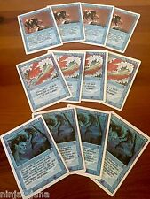 Lote Magic REVISED Azul: 4 Blue Elemental Blast, 4 Unstable Mutation y 4 Merfolk